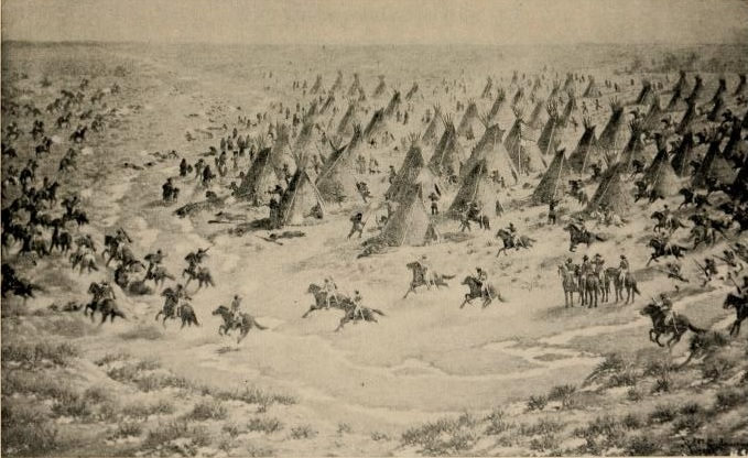 the sand creek massacre Condemned by congress, the sand creek massacre marked the plains with  blood, sparking warfare from texas to the canadian border.